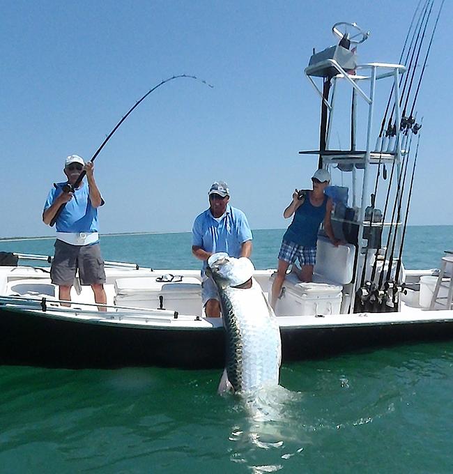 Ding darling doc ford 39 s tarpon tournament sandalfoot for Boca grande fishing