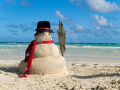 who - Merry Christmas Beach