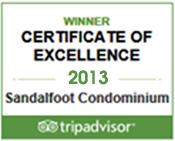 Tripadvisor Award 2013