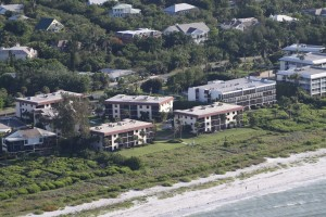 Located on the east end of Sanibel Island, beachfront to the Gulf of Mexico.