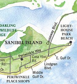 Sandalfoot Location