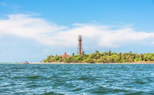 sanibel island view from water