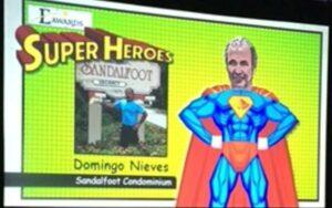 domingo nieves super hero award