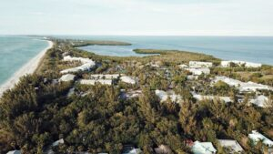 captiva island from above