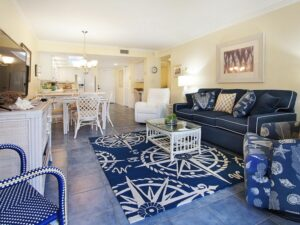 living room on sanibel island