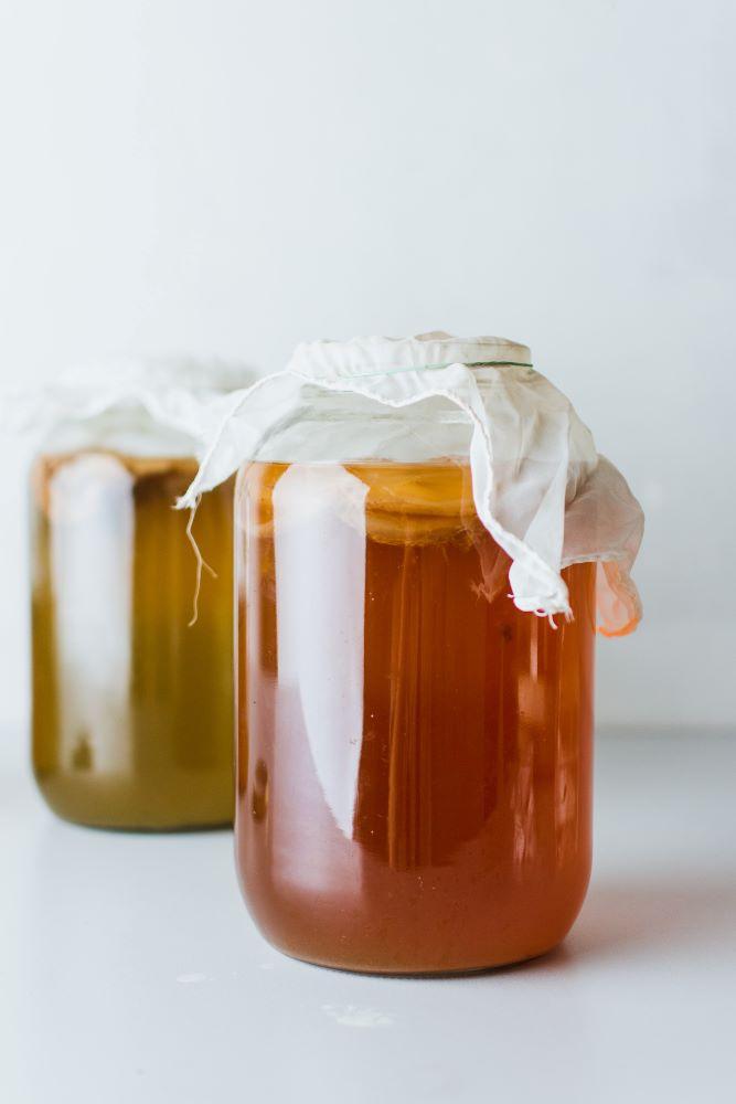 honey jars from Sanibel Island farmers market